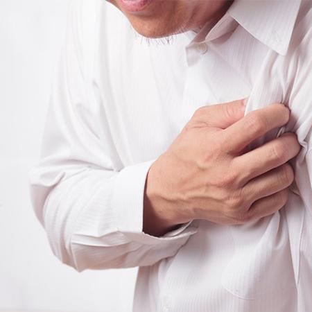 【胸悶、胸痛的穴位保健】