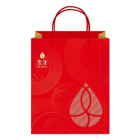 St.lotus品牌送禮提袋乙個